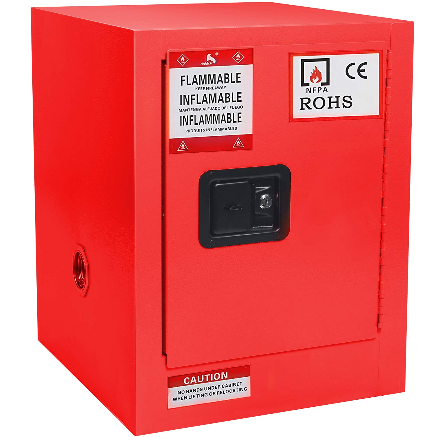 Flammable Cabinet Red Steel Liquids for Fixed price Free Shipping Cheap Bargain Gift sale Safety