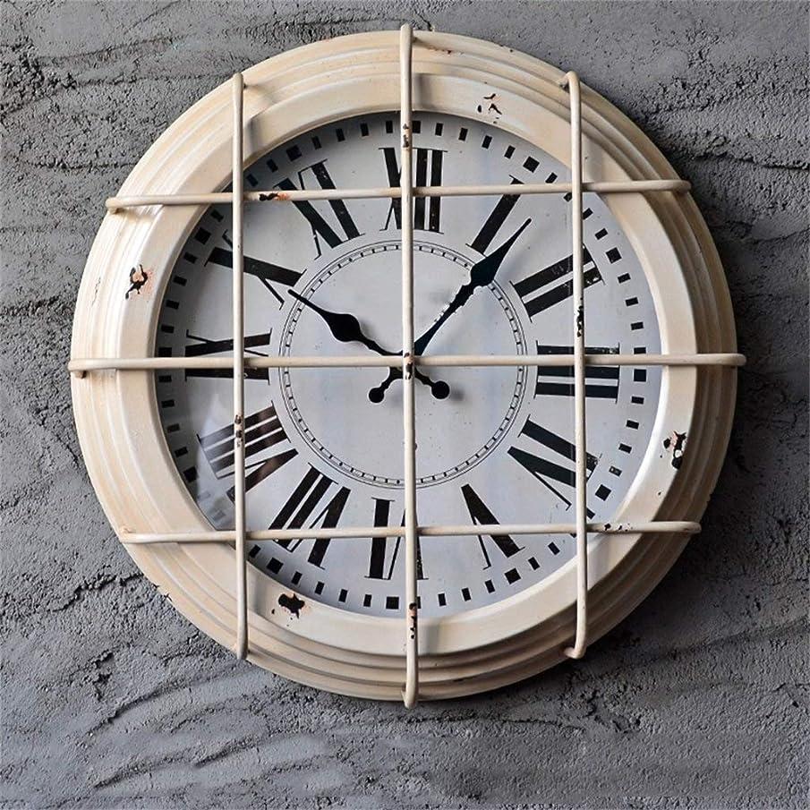 フォーラム郵便屋さん永遠の壁掛け時計産業風鉄製の装飾壁掛け時計レトロ人格クリエイティブバーリビングルームの装飾壁の装飾