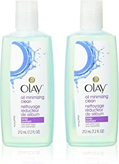 Olay Oil Minimizing Clean Toner, 7.2 Ounce (Pack of 2) packaging may vary