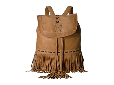 STS Ranchwear Free Spirit Backpack (Camel) Backpack Bags