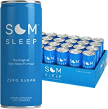 Som Sleep, The Original Sleep Support Formula w/ Melatonin, Magnesium, Vitamin B6, L-Theanine & GABA – Non-GMO, Vegan, Glu...