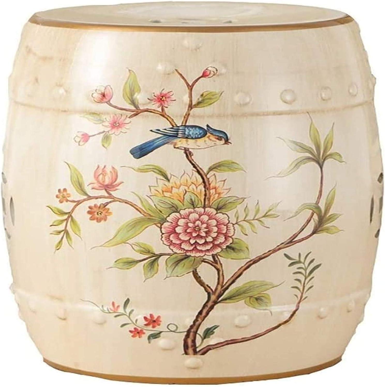 Macro Ceramic Garden Stool Fashion Bench Dru Change Shoe Lowest price Great interest challenge