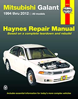 Best 2000 mitsubishi galant repair manual Reviews
