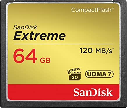 B00EZE6V50 SanDisk Extreme 64GB Compact Flash Memory Card
