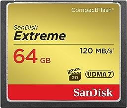B00EZE6V50 SanDisk Extreme 64GB Compact Flash Memory Card
