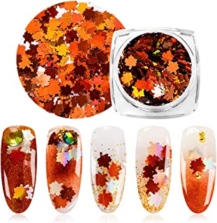 Holographic Chameleon Laser Multicolor Sequins Nail Art Glitter Flakes Maple UV Gel Polish Tool Decor Manicure (1)