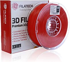 Filatech ABS Filament, Lumin. Red, 1.75mm, 1 kg, Made in UAE