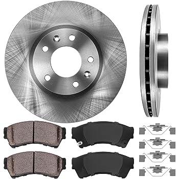 2011 2012 2013 Mazda 5 OE Replacement Rotors w//Ceramic Pads F