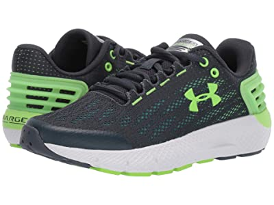 Under Armour Kids UA BGS Charged Rogue (Big Kid) (Wire/White/Lime Light) Boys Shoes