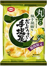 亀田製菓 手塩屋 柚子胡椒味 8枚 ×12袋