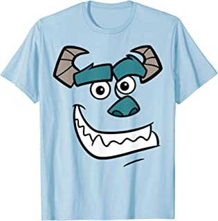 Pixar Monsters Inc Sulley Face Costume T-Shirt