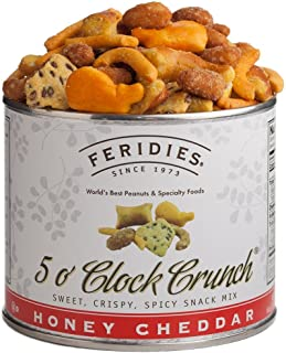 Feridies 5 O' Clock Crunch Snack Mix, 6 Ounce