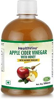 HealthViva Apple Cider Vinegar with Mother Vinegar and Honey - 500 ml