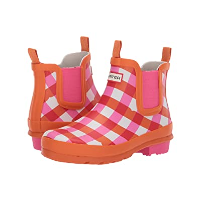 Hunter Kids Original Chelsea (Little Kid/Big Kid) (Arcade Pink) Kids Shoes