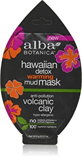 Alba Botanica Alba hawaiian detox warming mud mask anti-polution volvanic clay .3oz, 0.3 Ounce
