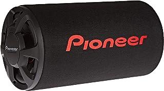 مضخم صوت باس ريفلكس من بايونير لسيارة مع غلاف أنبوبي بقوة 1300 واط - أسود، Ts-Wx306T