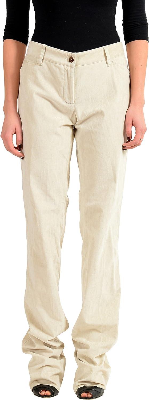 Dolce & Gabbana Gray Velour Women's Casual Pants US L IT 44
