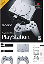 Sony PlayStation Classic Console Holiday 20 Games Bonus Bundle with USB AC Adapter