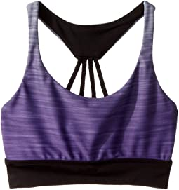 Gradient Print Racerback Bra Top (Little Kids/Big Kids)