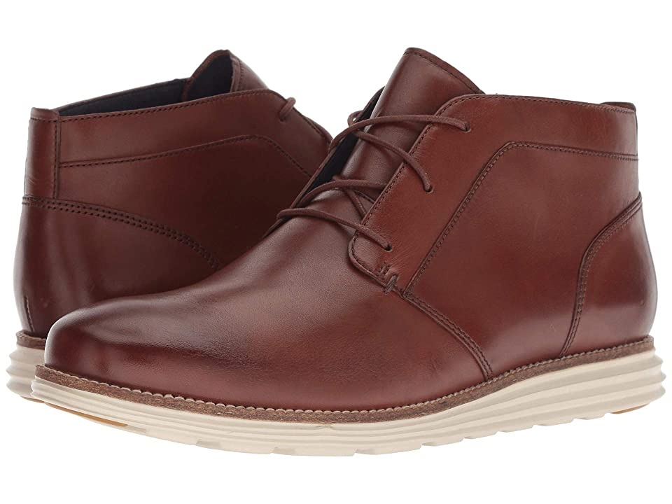 Cole Haan Original Grand Chukka (Woodbury Leather/Ivory) Men