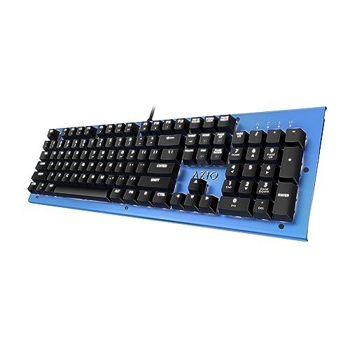 Azio Mk Hue Blue USB Backlit Mechanical Keyboard (Outemu Brown) (MK-HUE