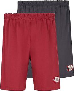 Jan Vanderstorm Taisto Men's Short Pyjama Bottoms Pack of 2