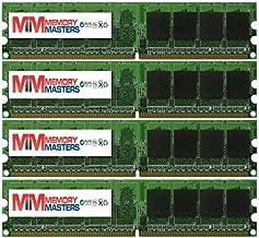 MemoryMasters New! 8GB 4X2GB Dell Compatible OptiPlex 745 DDR2 PC2-5300 Memory