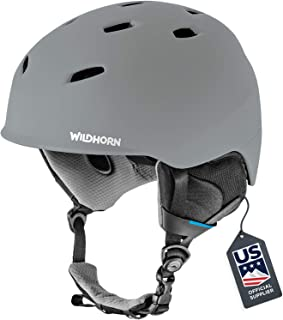 Snowhorn و کلاه اسکی Wildhorn Drift - تامین کننده رسمی اسکی ایالات متحده - عملکرد و ایمنی w / تهویه فعال