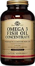 كبسولات هلامية مركزة بزيت السمك أوميجا 3 من سولغار, 033984016996 , , 240, ,