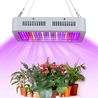 1800W LEDs Grow Light with Hanging Chains Rope Full Spectrum Vegetable and Flower Indoor Plants Growing Lamp 200pcs Red Bl...