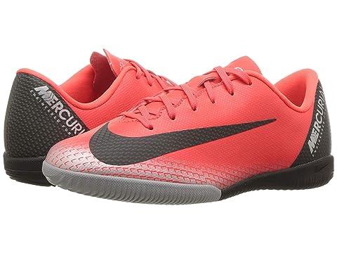 more photos ea830 2ef74 Nike Kids VaporX 12 Academy CR7 IC Soccer (Little Kid Big Kid)