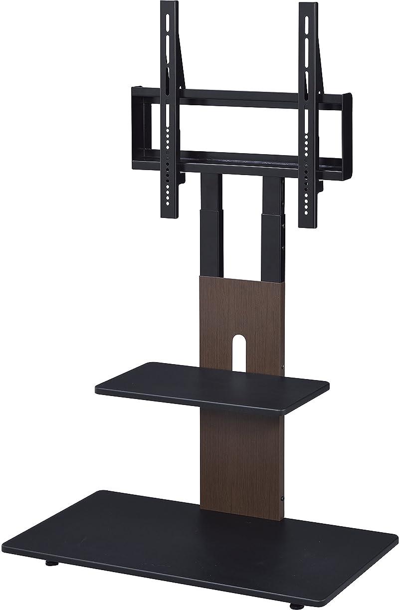 用量製造業方法Sun Ruck(サンルック) 壁寄せテレビスタンド ロータイプ 32~60インチ対応 VESA規格対応 新生活 SR-TVST04 ダークウッド