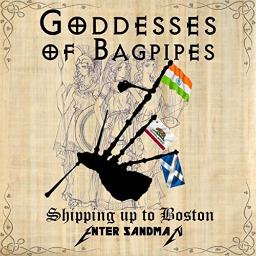 cb8437f9b8 Shipping up to Boston   Enter Sandman by Goddesses of Bagpipes on Amazon  Music - Amazon.com