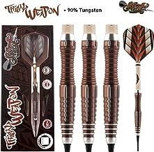 Shot! Darts Tribal Weapon-Soft Tip Dart Set-Front Weighted-90% Tungsten Barrels
