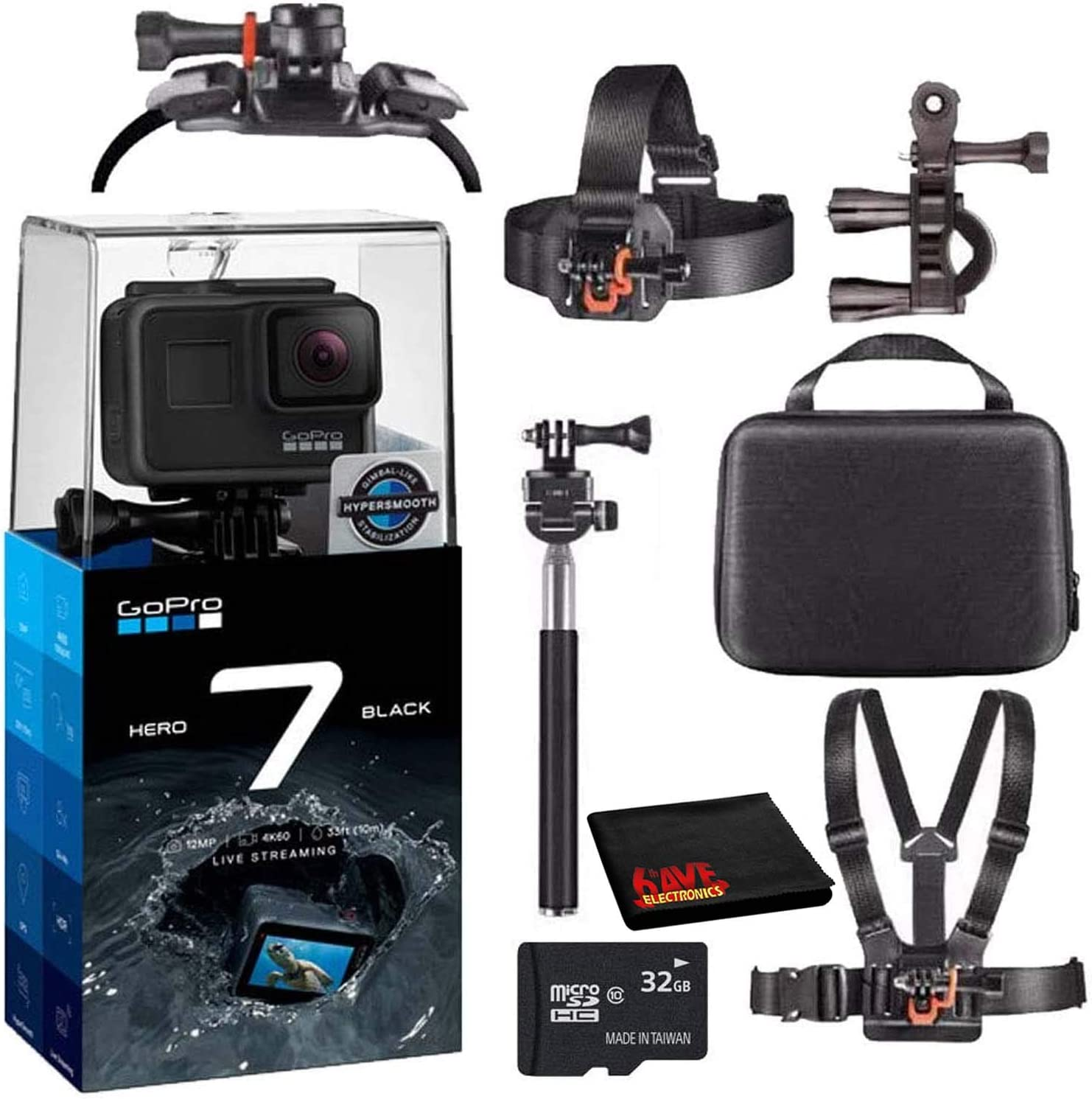 GoPro Hero7 Max 77% OFF Hero 7 Waterproof Bund Digital Starter Camera Action 4 years warranty