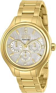 Invicta Angel Quartz Crystal White Dial Ladies Watch 30959