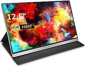 モバイルモニター モバイルディスプレイcocopar 12.5インチ スイッチ用モニター 非光沢IPSパネル 薄い 軽量 1920x1080FHD HDRモード/FreeSync対応/ブルーライト機能 USB Tpye-C/mini HDMI/...