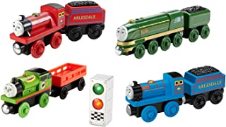 Fisher-Price Mike, Streamlined Emily, Racing Percy, Bert 4pk!! - Thomas Wooden Railway Tank Train Engine