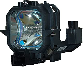 Kingoo Excellent Projector Lamp for EPSON EMP-54 EMP-54c EMP-74 EMP-74c EMP-74L EMP-75 PowerLite 54c PowerLite 74c Replacement Projector Lamp Bulb with Housing