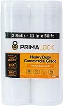 PRIMALOCK Premium Heavy Duty Vacuum Sealer Bags - 2 Large Rolls- 11