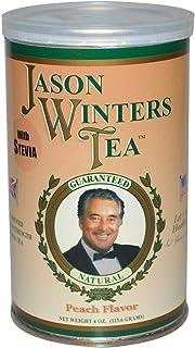 海外直送肘 Pre-Brewed Tea with Stevia, Peach 4 Oz