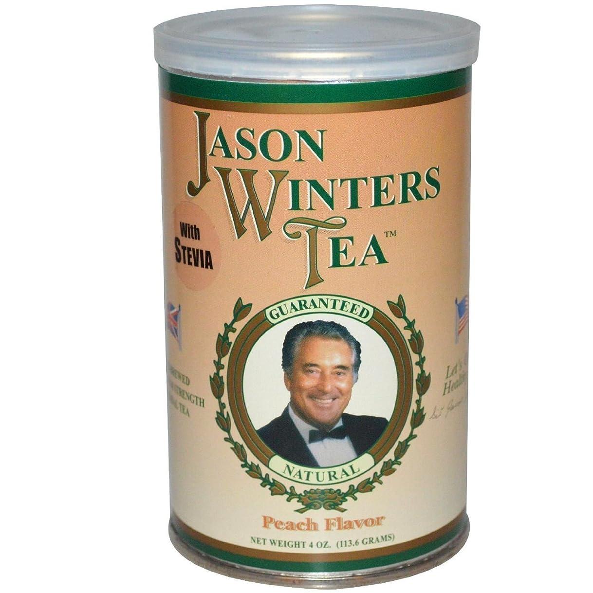 スポンジセンチメンタル季節海外直送肘 Pre-Brewed Tea with Stevia, Peach 4 Oz