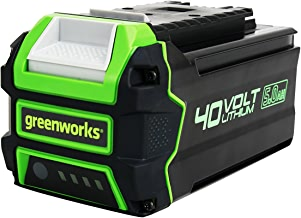 Greenworks Elite L-600 Lithium-Ion 40V 6AH Smart Battery