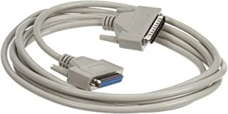 Male//Female Black Box PC Computer Premium Serial Cable 25 ft. NEW 7.6 m