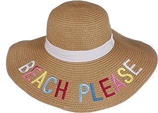 النساء سترو قبعة الشاطئ قبعة الشمس للبنات الصيف شاطئ القبعات للنساء بنات شاطئ عطلة الرياضة في الهواء الطلق