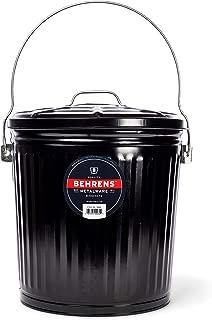 Behrens B907P Black Ash Pail