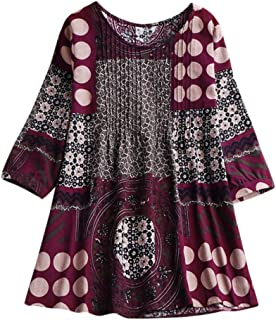 Boomboom 2019 Autumn National Style Cotton Linen Shirts Women Plus Size Tunic Tops Blouse