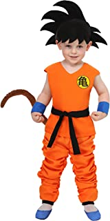 Dragon Ball Toddler Kid Goku Costume