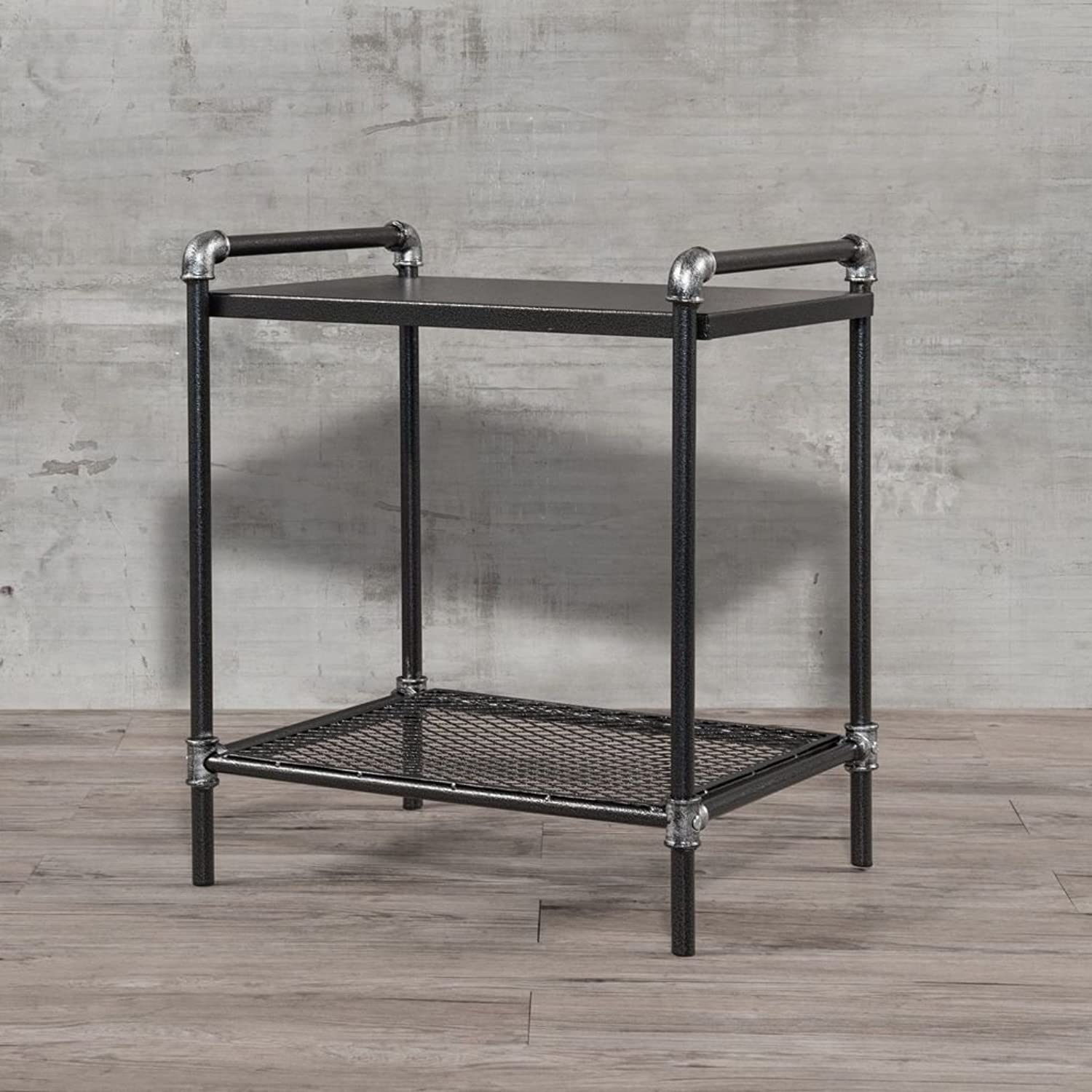 Shop Sting Corvus Matera Industrial End Table Nightstand