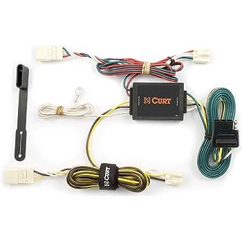 amazon.com: curt 55580 vehicle-side custom 4-pin trailer wiring harness for  select toyota sienna: automotive  amazon.com